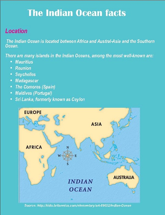 10 Interesting Indian Ocean Facts | My Interesting Facts |Indian Ocean Facts