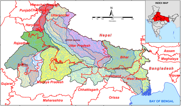 River Basins of India